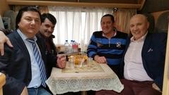 Влад Светоч, Гия Гагуа, Владимир Вишневский и Николай Лукинский